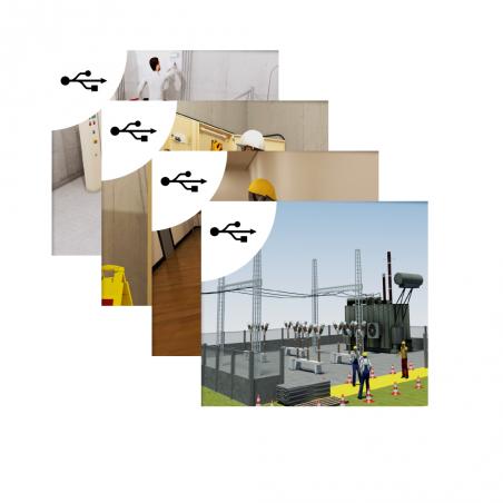 Support - Pack 4 Parcours : B0 / H0 / H0V - BE Manœuvres/BS/HE - B1(V)/B2(V)/BR/BC - H1/H2